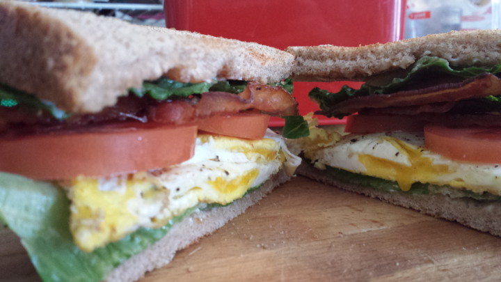 Bacon Egg Lettuce Tomato Sandwich
