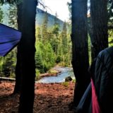 Hammock Camping along the Bumping River