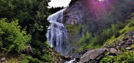 Spray Falls, Mt Rainier National Park