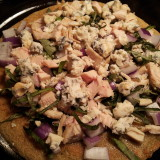 Quinoa Crust With Toppings