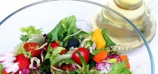 Fresh Salad With Oil