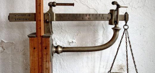 old fashioned scale